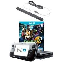 Nintendo Wii U 32gb - Black (refurbished) Y Star Fox Zero