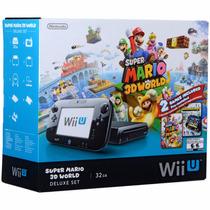 Consola Nintendo Wii U 32 Gb Deluxe Set Super Mario 3d