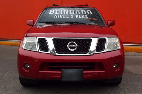 Nissan Pathfinder 2010 Blindada Nivel 3 Plus Se 4x2