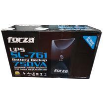 No-break Forza Sl 761 ,750va/450w,6 Cont;usb,rj11,reg,2 Años