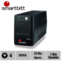 No Break, Regulador Y Supresor De Picos Smartbitt Nb500