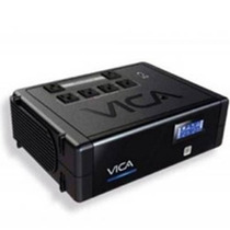No Break Vica Rev 500va/300w 6 Contactos Con Respaldo Y Reg