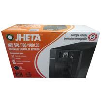Super Oferta No-break Jheta Neo 500lcd, 500va,6 Cont, 5 Años