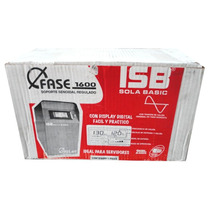 No-break Sola Basic Srs-1600f,lcd,senoidal,6 Cont;usb,2 Año