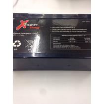 Batería Recargable 6v 12a Xtro