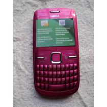 Nokia C3 Rosa Unefon Empacado Y Totalmente Nuevo Daa