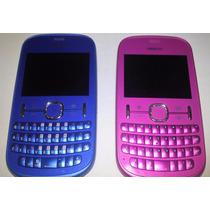 Celular Nokia 201 Rosa Y Azul Seminuevo Telcel