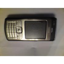 Nokia N70 Colornegro/plateado Para Tecel En Muy Buen Estado
