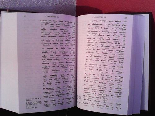 Nuevo Testamento Interlineal Griego-español