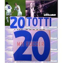 Estampado Italia 2000, Visita #20 Totti