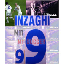 Estampado Italia 2000, Visita #9 Inzaghi