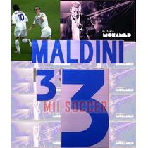 Estampado Italia 2000, Visita #3 Maldini