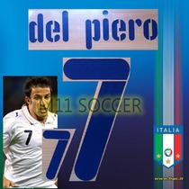 Estampado Italia 2006, Visital #7 Del Piero