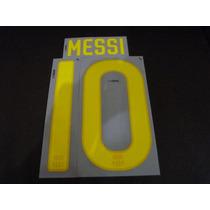 Nombre Y # Original Adulto Jersey Barcelona Messi #10 11/12