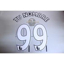 Numeracion Tipografia Lextra Premier League Cualquier Nombre