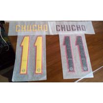 Numero Oficial Chucho Benitez 2011-2012 Local Y Visita