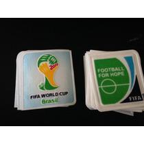 Set De Parches Copa Del Mundo Brasil 2014