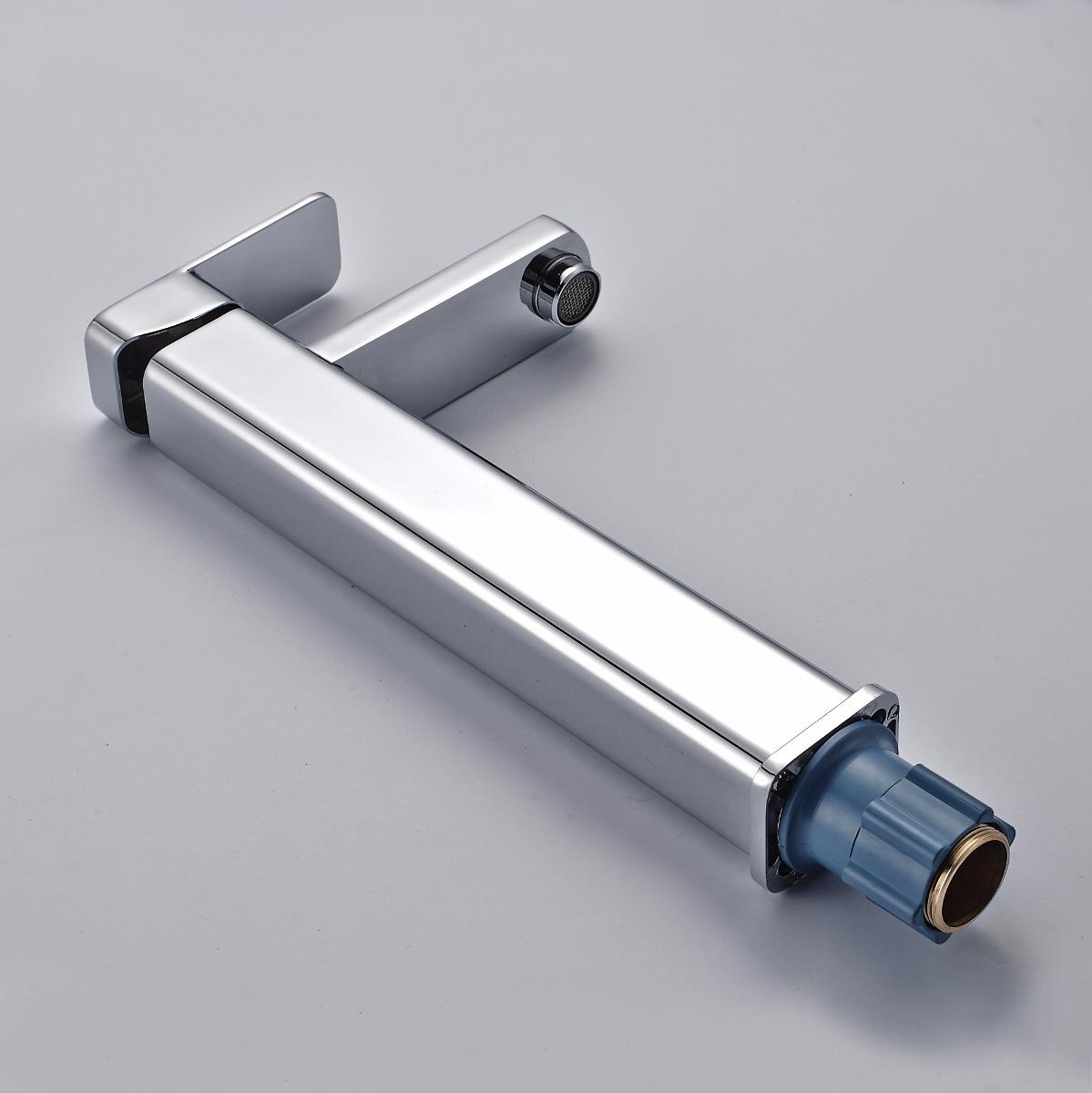 Odbo lb 9831h monomando mezcladora para lavabo en cromo for Llave mezcladora para lavabo precio