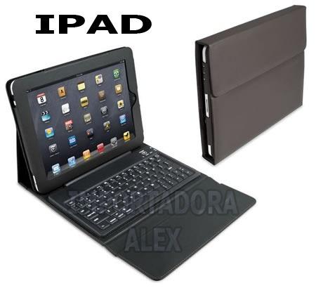Oferta!!! Funda Piel Ipad 2 Con Teclado Bluetooth + Regalo