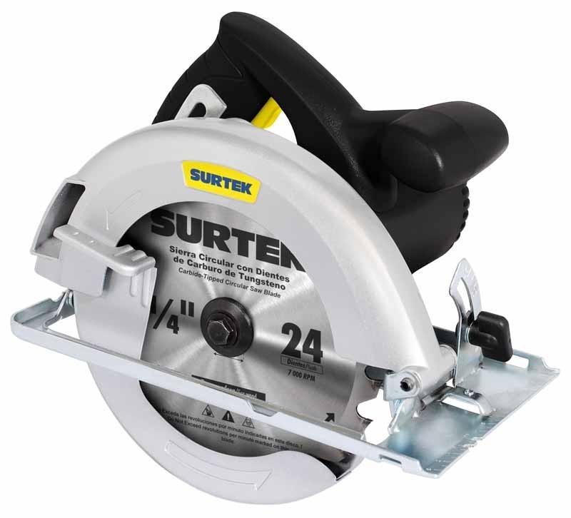 Oferta sierra circular sc407c surtek disco 7 1 4 1200 w - Sierra circular precio ...