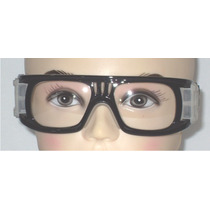 Goggle Deportivo Para Graduar Oftalmico D Policabonato Negro