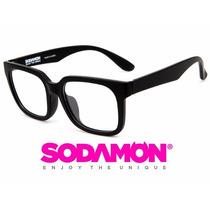 Armazon Oftalmico Sodamon 8025-c1 Geek Hipster Skate