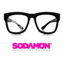 Armazon Oftalmico Sodamon 8011-c5 Geek Hipster Skate