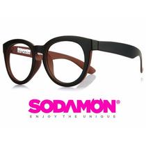Armazon Oftalmico Sodamon 8020-c1 Geek Hipster Skate Kpop