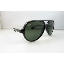 Ray Ban Rb4125 Cats 5000 Lentes Sol Negros, Tortoise Ent. In