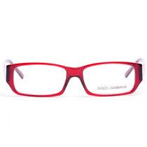 Lente Armazon Oftalmico Dolce Gabbana 3028 Mujer Rojo Devlyn