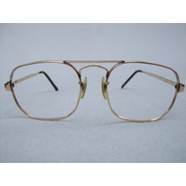 Lentes De Lectura Us Optical Baño De Oro De 12 Kt Vintage