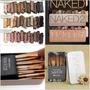 Naked 1 2 3 + Brochas Naked 3 Urban Decay + Envio Gratis