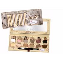 Paleta Sombras Ojos Nude Maquillaje Cosméticos Envío Gratis