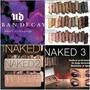 Sombras Naked 1,2,3 + Envio Gratis