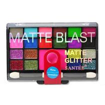 Santee Sombras Matte Y Glitter Serie 3 Pzs 63 Tonos St086b