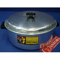 Aluminio Budinera 26 Cms Aluminio D/fuerte Mod.: 10053 Mrc.