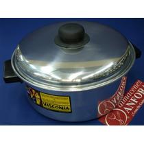 Aluminio Budinera 24 Cms Aluminio D/fuerte Mod.: 10046 Mrc.