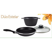 Kitchen Fair Duo Estelar (sarten 25c/olla 4.7l) Envio Inclui