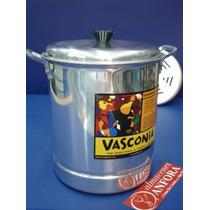 Aluminio Vaporera 22 Cms Mod.: 4000191 Mrc.: Vasconia