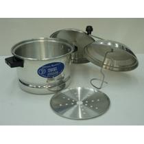 Aluminio Horno Vaporero Y Palomero Cc Mod.: 18 Cap 3 Litros