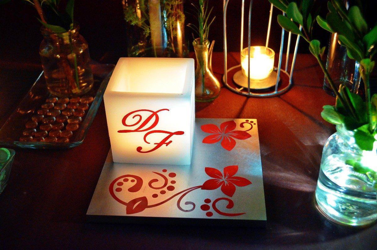 Centros de mesa recuerdos para bautizo lamparas envio - Mesa centro original ...