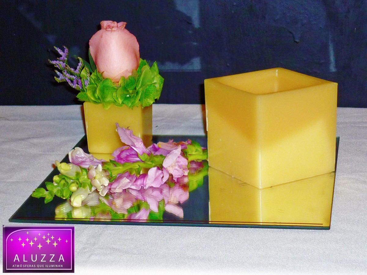 Original centro de mesa para boda aluzza 85 - Mesa centro original ...