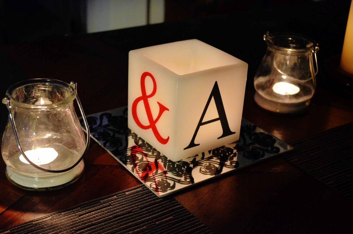 Original centro de mesa para boda aluzza en - Espejos de mesa baratos ...