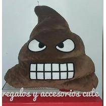 Cojín Emoji Whatsapp Popó Feliz & Popó Enojada 100% Original