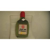 Cojin En Forma De Botella Con Mensaje Medidas 42x21cm Mmu