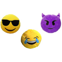 Cojín Peluche Emoji De Whatsapp , Emoticon
