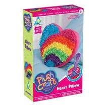 Plush Craft Almohada Corazón Kit-