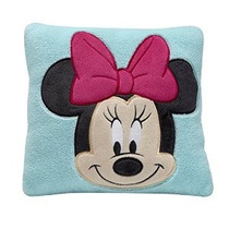 Disney Minnie Almohada Decorativa Turquesa