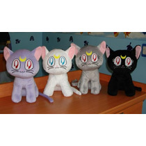 Sailor Moon Gatos Luna,artemis,diana Anime Cosplay Regalo