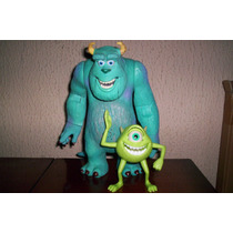 Monster Inc Sulley Y Mike Sonidos Y Movimientos 2001 Figura